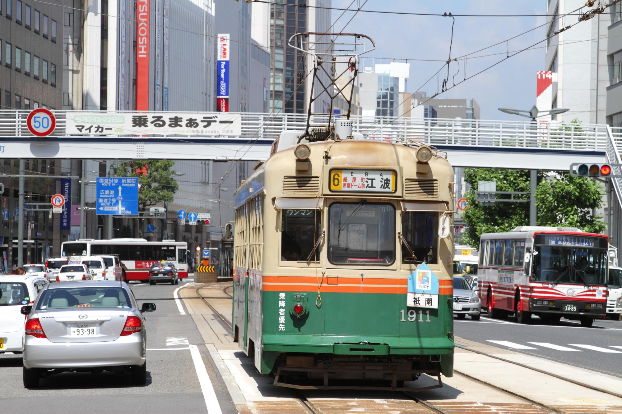 路面電車の走る街の一覧